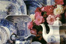 Blue Delft & Blue China
