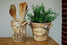 květináče keramika