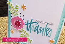 Stamp of Approval Lovely Notes Collection / www.cpstampofapproval.com