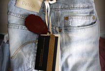 "Jeans Dondup / Jeans ""Dondup"" Donna, vari modelli, skinny jeans, stretti alla caviglia, vari colori."