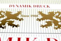 Dynamik Druck since 1988 / Druckerei in Hamburg mit Schwerpunkt Offsetdruck, Digitaldruck, Druckveredelung und Druckweiterverarbeitung. Spezialisierung auf hochwertige Druckproduktionen und exklusiv veredelte Drucksachen