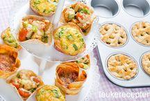muffins en kleine hapjes