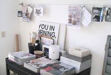 workspace / by Torina Scott-Steelsmith