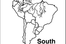 South America theme for ESOL students / by Laurie Moulton (Elementary ESL)
