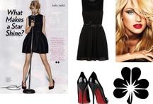 Black Lace Dress Collection