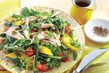 feed me. salad.