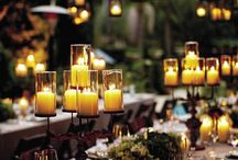 Dinner tablescapes