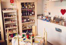 The Shop / Delicatessen Andalusian Shop in Vejer, Cádiz, Andalusia, Spain