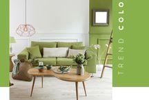 Color Trend / Mostraremos las nuevas tendencias en colores para potenciar nuestra decoración y diseño de interiores.