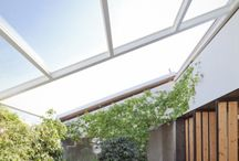 Roof for summer terrace