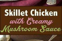 mad med kylling og andet fjerkræ