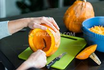 How prepare Halloween pumpkin
