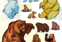 Little bear character