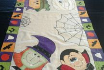 pintura textil Halloween
