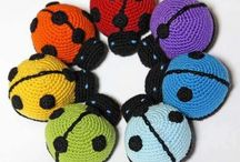 Crochet Butterflies/Dragonflies/Ladybugs / by Barbara Binda