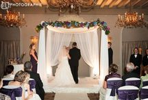 Ceremony Flowers and Decor / Flowers Designed by Sisters Floral Design Studio