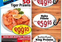 seafood & meat suppliers