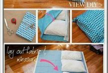 Pillow bed diy