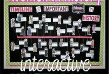 Bulletin boards: Women History Month