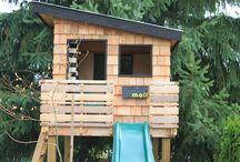 Swing Set/ Play House