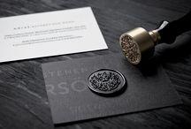 Cards & print communication / presentation
