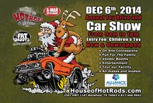10th Annual Car Show & Toy Drive! / 10th Annual House of Hotrods Car Show and Toy Drive! All, makes, models, bikes and vendors welcome!! Find more info here: http://www.txhouseofhotrods.com/10th-annual-house-hotrods-christmas-car-show-toy-drive/ See you there!