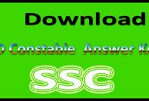 SSC GD Constable Answer key 2015
