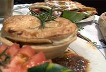 Savouries and lunches / All our pies, quiches, slices and savory croissants!