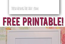 Printables / by Caitlin Eckert