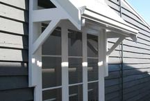 Window Awnings / Collection of ideas for window awnings