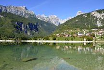 """Vacanze tra il Lago di Molveno e le Dolomiti di Brenta patrimonio Unesco, in Trentino / """"Molveno... preziosa perla in più prezioso scrigno"""".  A. Fogazzaro"""
