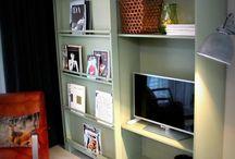 Televisie verbergen Room divider
