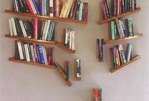 Books / Bookshelves, funny, cool & fascinating