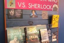library displays / by Carolynn Winningham