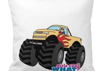 Girls Can't WHAT? Monster Truck / The coolest place for Girls who love monster trucks and the famous Girls Can't WHAT? gifts that you can choose from to have and to give.