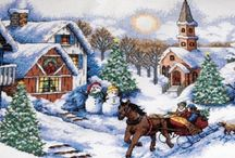 Cross Stitch Christmas Kits | A Cross Stitch In Time / Cross Stitch Christmas Kits make Lovely Gifts and Beautiful Christmas Decor for Our Own Homes