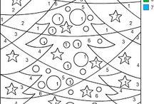 Kerstwerkbladen