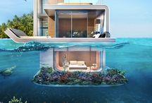 architecture sous l'océan