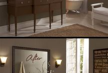 MirrorMate / MirrorMate gives the plain Jane frameless mirror a high-end look in minutes.  Check out all of your options in our showroom at Apache Glass & Mirror!