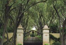 Gate Entryway | Five Oaks
