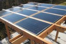 pergola cu panouri solare