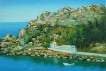 Greek Scene Paintings