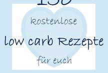 Rezepte Sammlung low carb