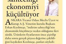 #KUTUP BASINDAN HABERLER / #KUTUP Yönetim Kurulu Başkanı Erhan KIZILMEŞE'nin  & Şirketimizin Basın Bültenleri
