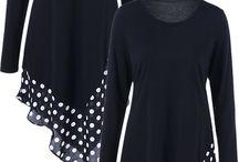 Asymmetrischen Kleid