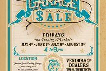 garage sale board