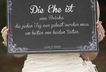 Hochzeit - Ehe