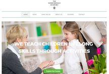 Client Portfolio - Sunningdale Academy / A website we built for the Sunningdale Academy http://www.thesunningdaleacademy.com