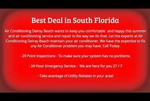 Air Conditioning Delray Beach / Air Conditioning Delray Beach is a World Class HVAC Service Company in the Delray beach Area. he have everything needed to conquer any Air Conditioning Repair problem you may have. Check us out online today!