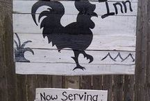 chicken signs